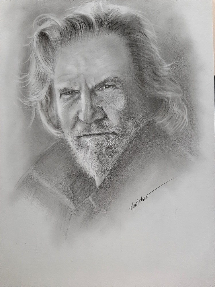 Jeff Bridges by Bobchew